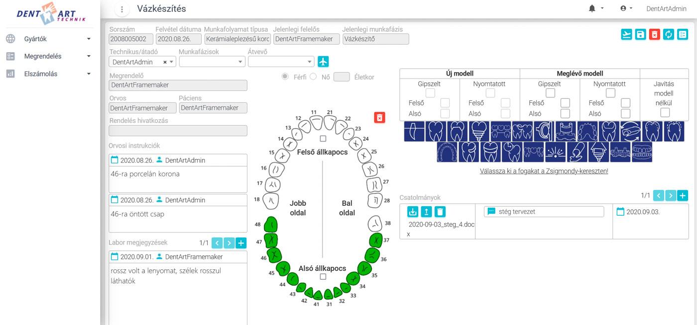 DLS - Dental Labor Software 3